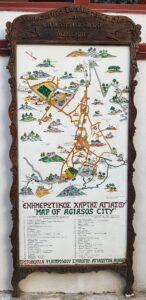 Map of Agiasos