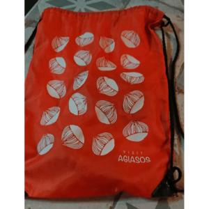 Visit Agiasos gift shop nylon bag
