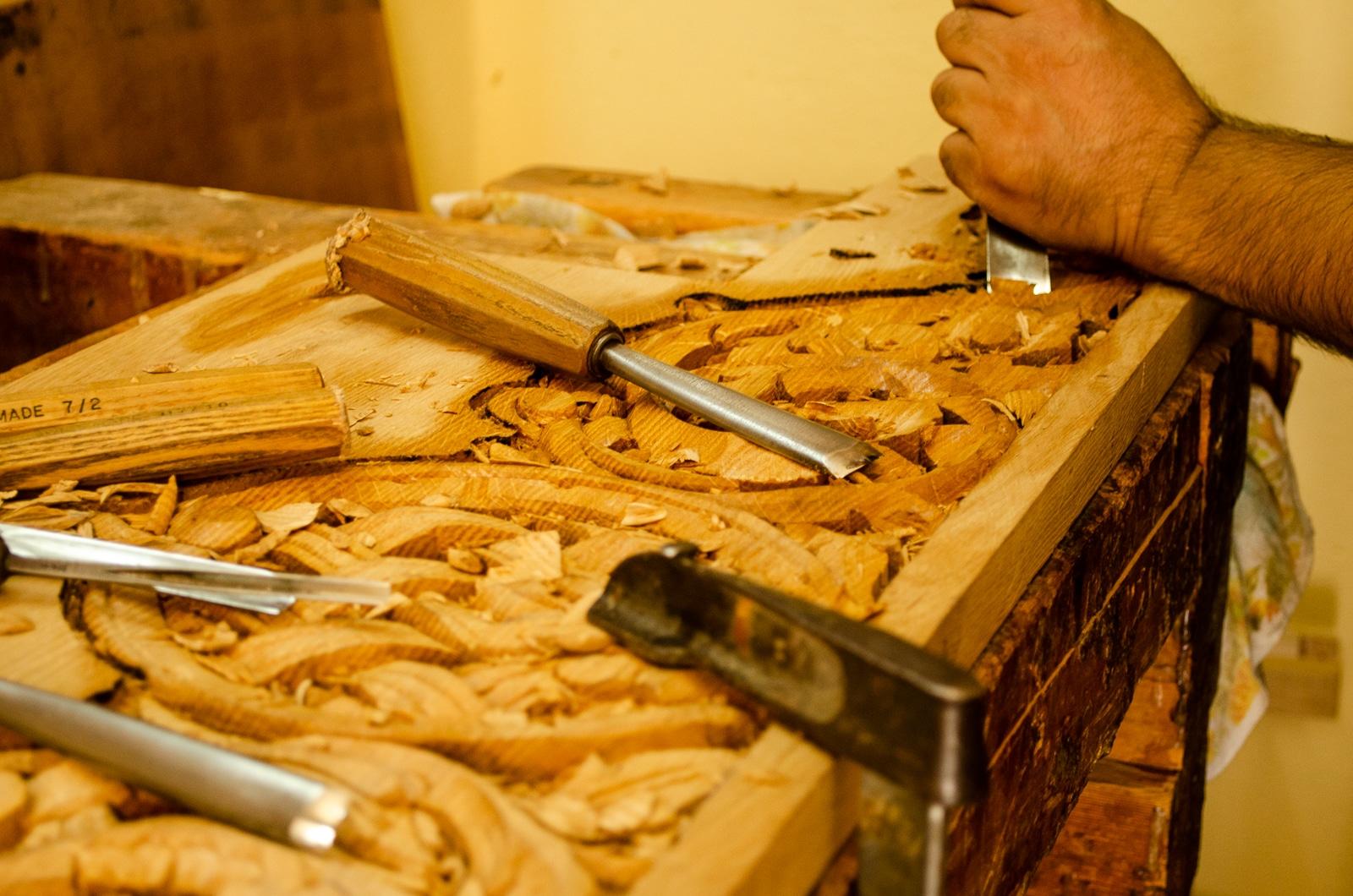 Woodworking Workshop Agiasos