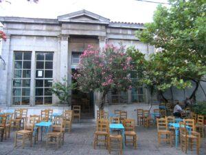 Kafentaria Agiasos